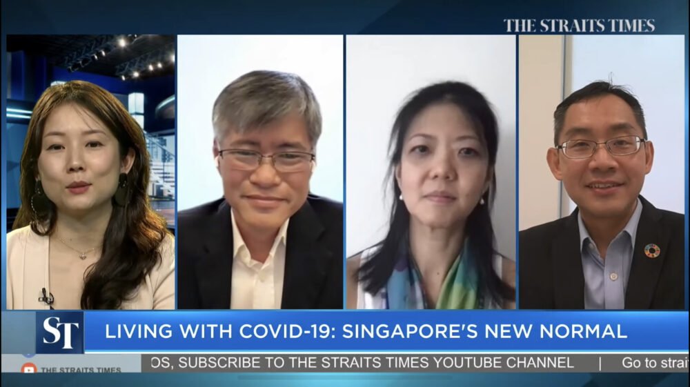 Media Coverage: Straits Times Panel on Living with COVID-19: Singapore's New Normal